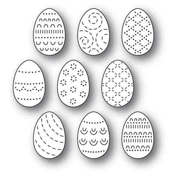 Folk Decorated Eggs