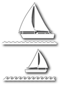 1152 Marina Sailboats craft die