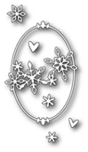 1262 Shasta Oval Frame craft die