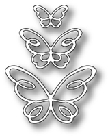 1378 Devyn Butterfly Trio craft die
