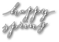 1416 Freehand Happy Spring  craft die