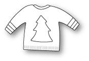 1547 Christmas Sweater craft die
