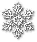 1592 Laurette Snowflake craft die