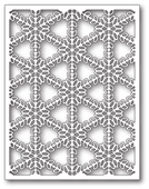 1651 Pickering Snowflake Background craft die