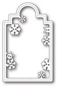 1661 Snowflake Tag craft die