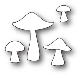 1810 Mushrooms and Toadstools craft die