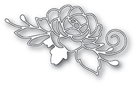 2013 Blooming Rose craft die