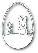 2014 Easter Bunny Egg craft die