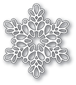 2097 Seed Snowflake Outline craft die