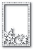 2106 Simple Pinpoint Snowflake Frame craft die