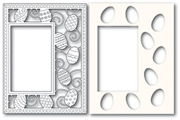 2182 Decorated Egg Sidekick Frame and Stencil