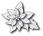 861 Blooming Poinsettia craft die