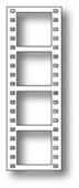 994 Cinema Film Strip craft die
