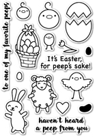 CL426 To All My Peeps clear stamp set