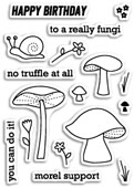 CL430 No Truffle At All Clear Stamp Set