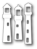 1372 Small Lighthouses craft die
