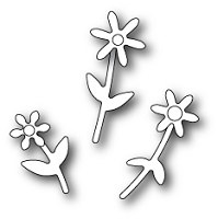1379 Mini Floral Bouquet craft die
