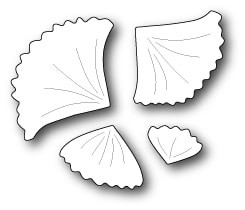 1442 Little Gingko Leaves craft die