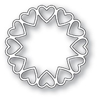 1981 Fancy Heart Ring craft die