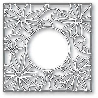 2060 Daisy Frame craft die