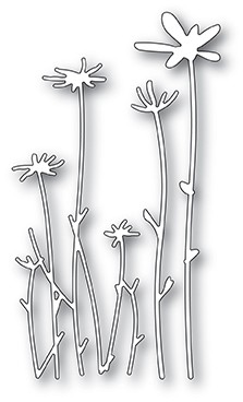 2065 Tall Sketch Daisies craft die