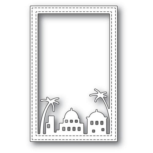 Simple Bethlehem Stitched Frame