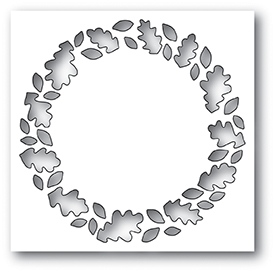 Leafy Wreath Collage