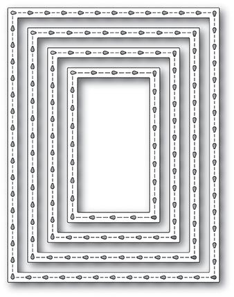 Stitchwork Rectangle Frames