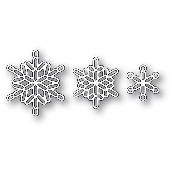Linked Snowflake Trio