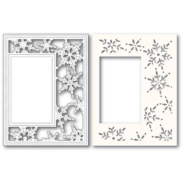 Pinpoint Snowflake Sidekick Frame