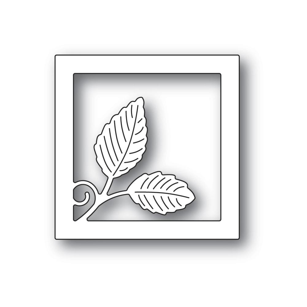 Intricate Leaf Square