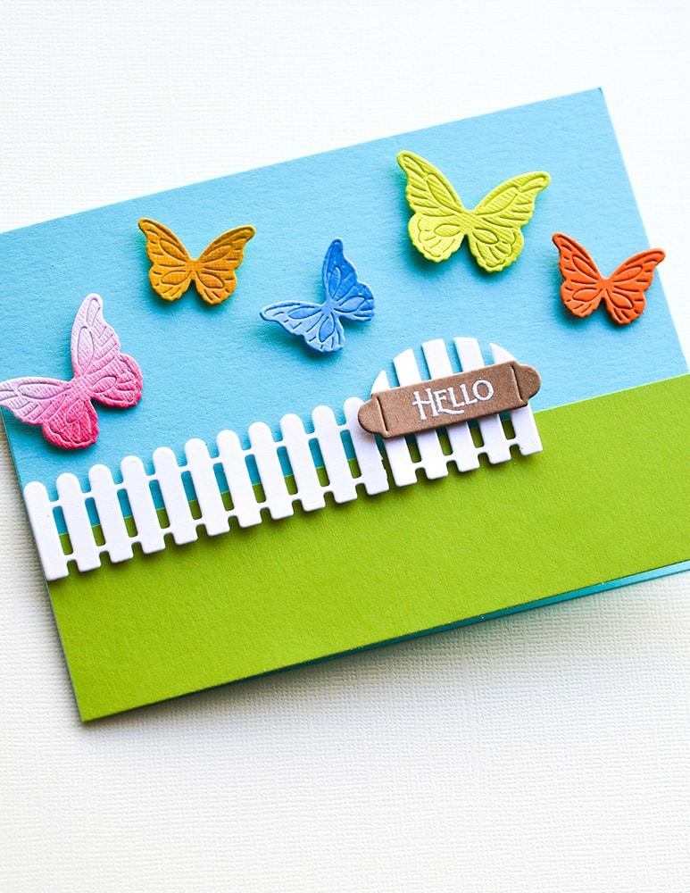 Intricate Cut Butterflies