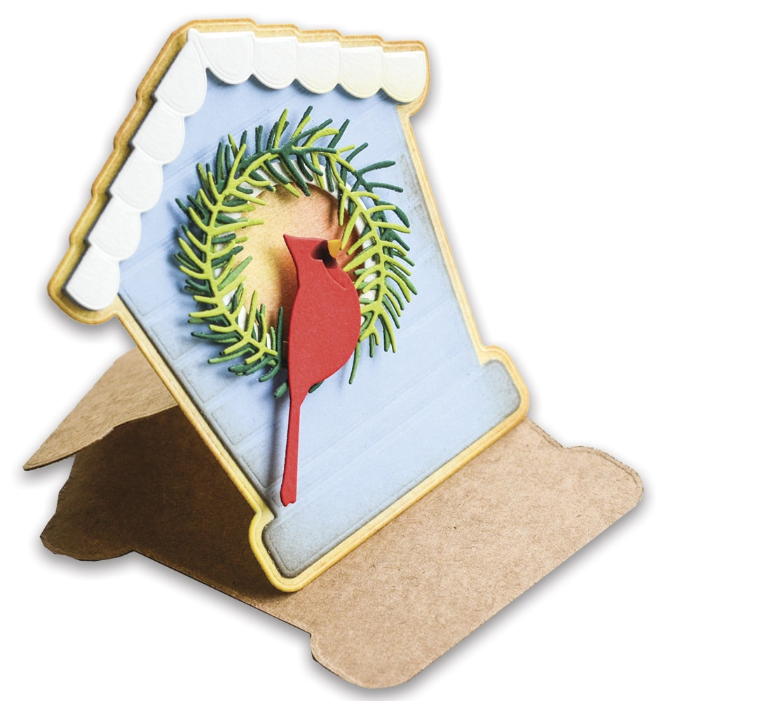Bird House Pop Up Easel Set