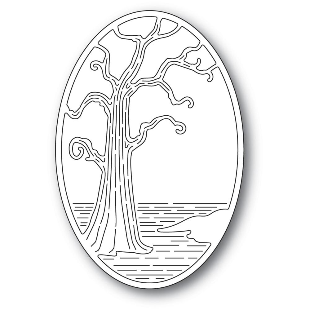 Twisted Tree Oval