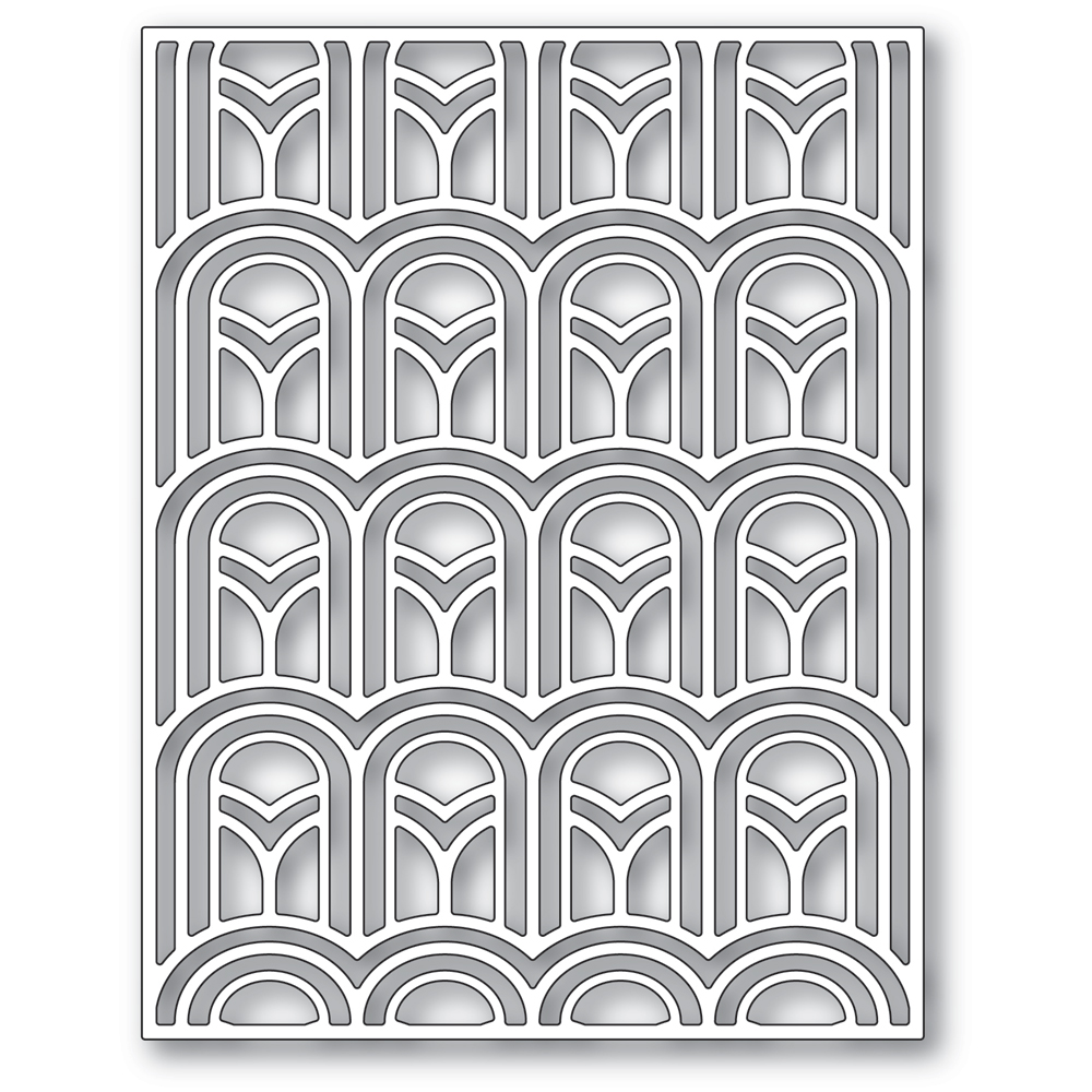 Arched Deco Plate
