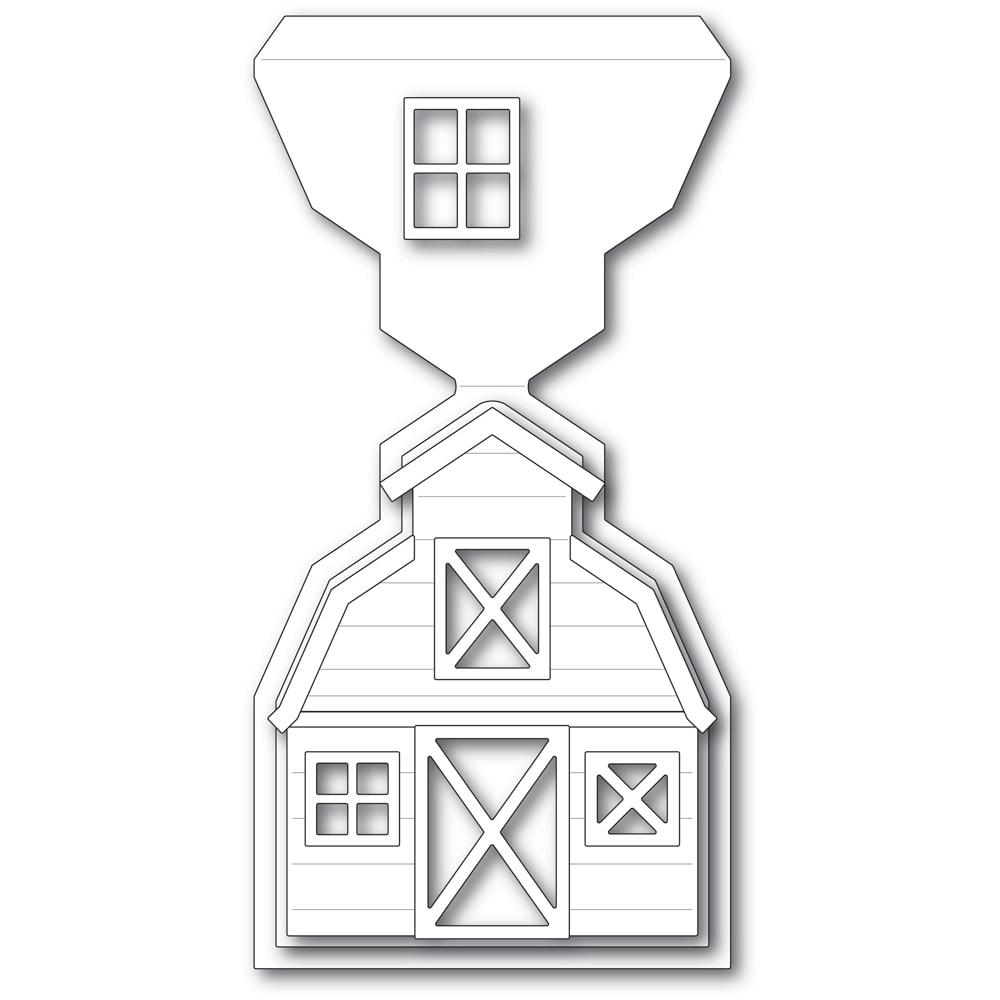 Country Barn Easel