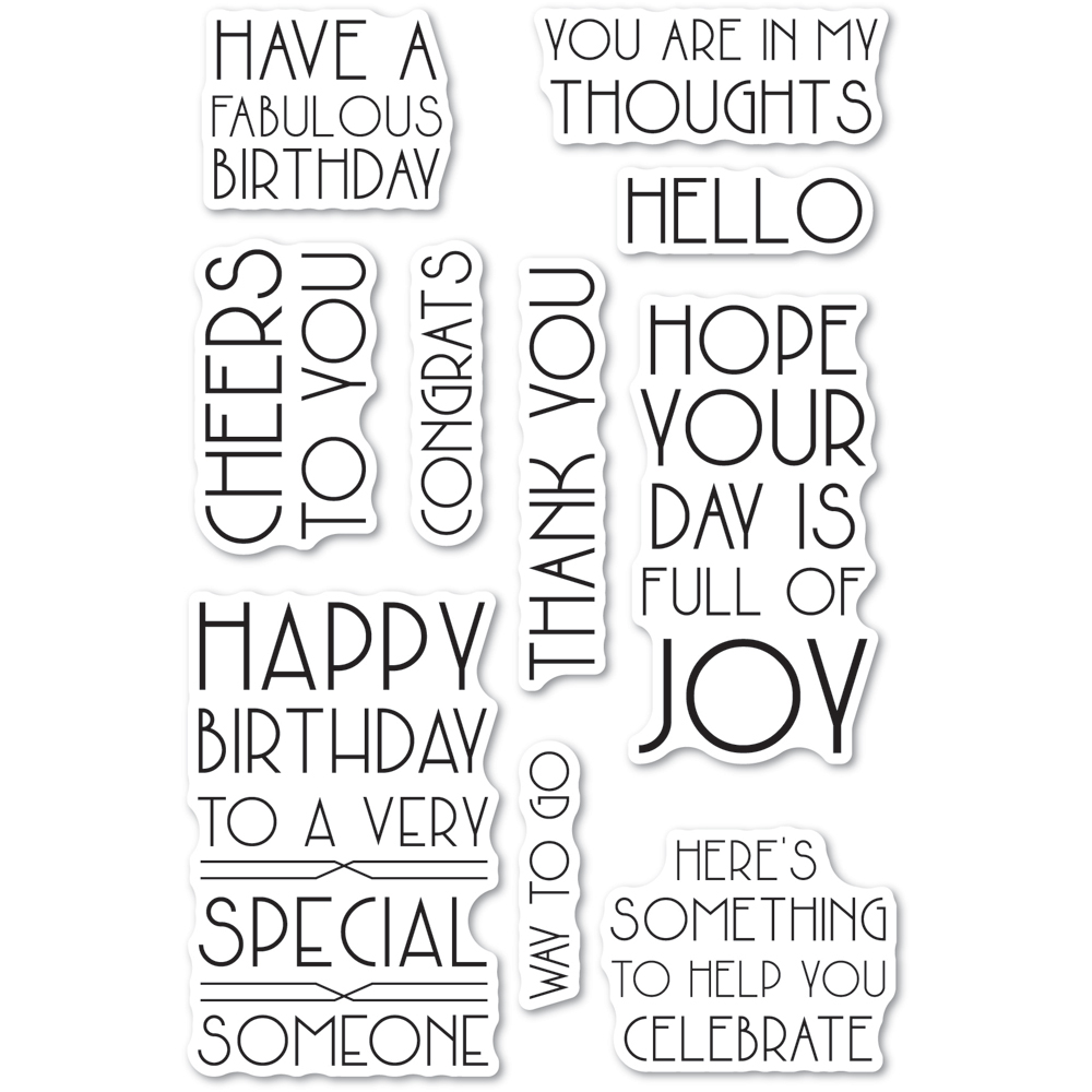 Art Deco Birthday Greetings