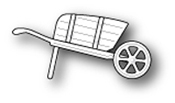 1127 Mini Garden Cart craft die