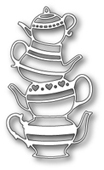 1157 Teapot Stack craft die