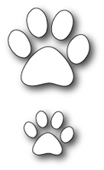 1207 Puppy Paw Prints craft die