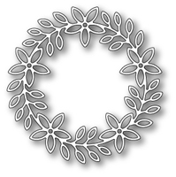 1409 Peppini Wreath craft die