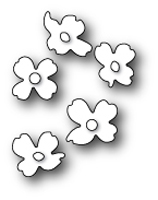 1436 Dogwood Blossoms craft die