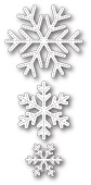 1917 Stitched Alpine Snowflakes craft die