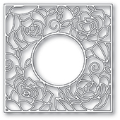 2033 Rose Frame craft die
