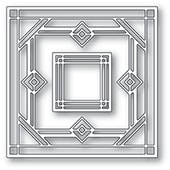 2130 Deco Victor Square craft die