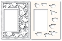 Garden Poppy Sidekick Frame and Stencil