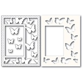 2221 Beautiful Butterflies Sidekick Frame and Stencil