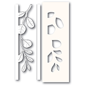 2234 Mistletoe Side Strips and Stencil craft die