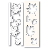 2236 Maple Leaf Side Strips and Stencil craft die