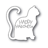 2237 Happy Halloween Cat craft die